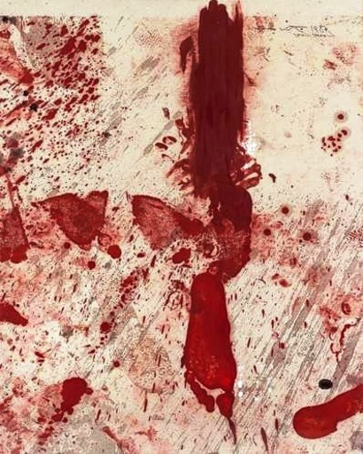 Hermann NITSCH - Painting - Sezesession