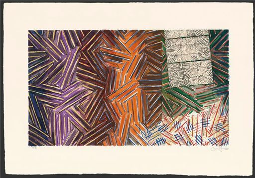 Jasper JOHNS - Print-Multiple - Between the Clock and the Bed