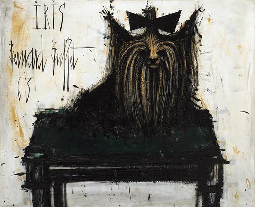 Bernard BUFFET - Painting - Iris