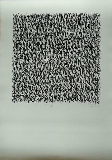 昆特•约克 - 版画 - Manuelle Strukturen IX