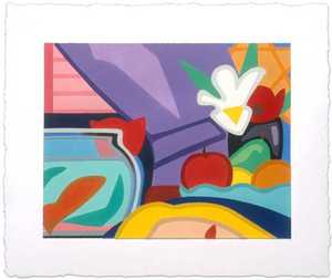 Tom WESSELMANN - Print-Multiple - Still Life with Blonde and Goldfish