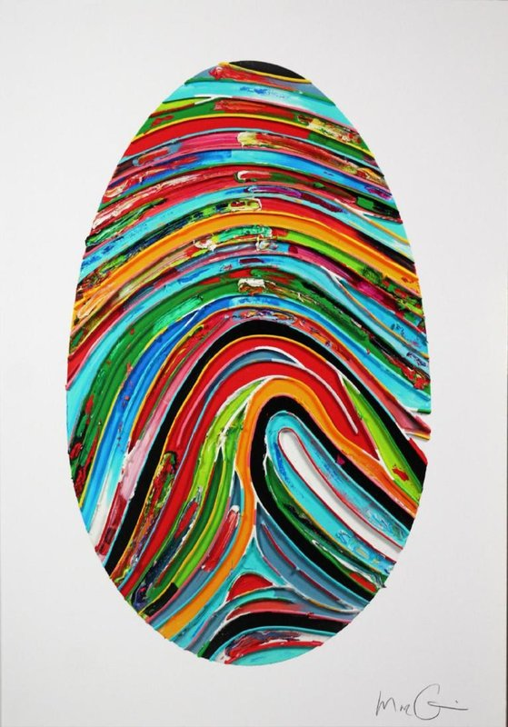 Marc QUINN - Grabado - Prismatic Labyrinth (354 U)