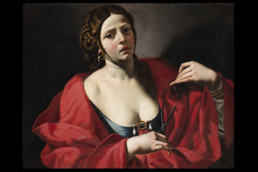 Luca FERRARI DA REGGIO - Gemälde - Berenice
