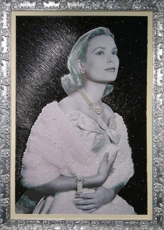 Daniele DONDE - Peinture - Grace Kelly