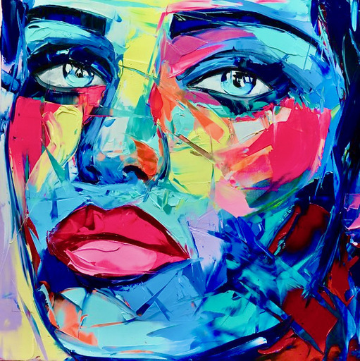 Françoise NIELLY - Painting - AIMY
