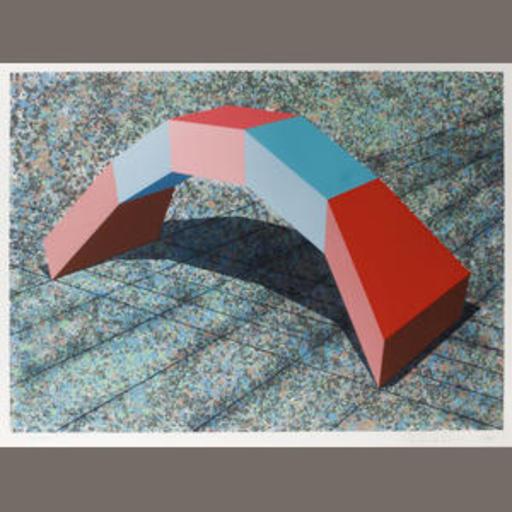 Ronald Wendel DAVIS - Grabado - Mitre Arch