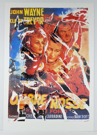 Mimmo ROTELLA - Print-Multiple - Ombre Rosse