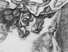 卢西安·弗洛伊德 - 版画 - After Chardin (small plate)