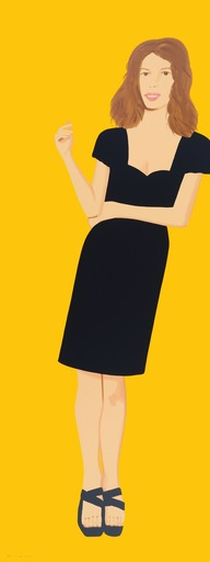 Alex KATZ - Grabado - Black Dress - Cecily