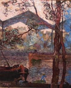 Julien DUPRÉ - Painting - The Bay