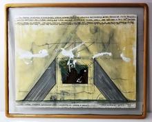 Igael TUMARKIN - Dibujo Acuarela - The Lehigh Pyramid