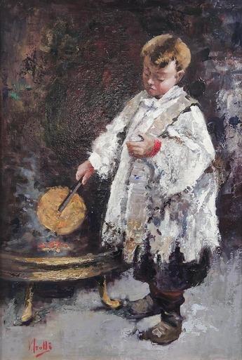 Vincenzo IROLLI - Painting - Chierichetto