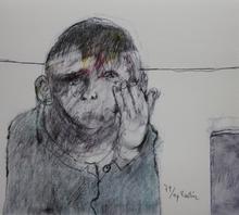 Jean RUSTIN - Grabado - Jean RUSTIN - Lithographie couleurs signée numérotée