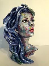 JOSEPHA - Sculpture-Volume - Buste