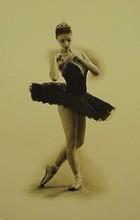 Douglas HOFMANN - Grabado - Black Swan