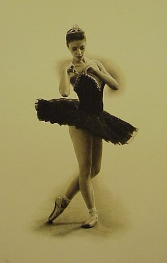 Douglas HOFMANN - Print-Multiple - Black Swan