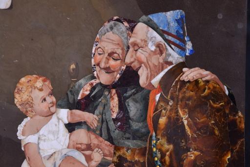 Giovanni MONTELATICI - Gemälde - Los Abuelos