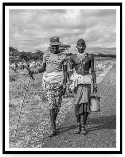 Mario MARINO - Photography - Shepherds, Africa, 2018.