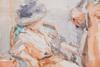 Isaac Lazarus ISRAELS - Dibujo Acuarela - Untitled (2 Women visit a Dressmaker)