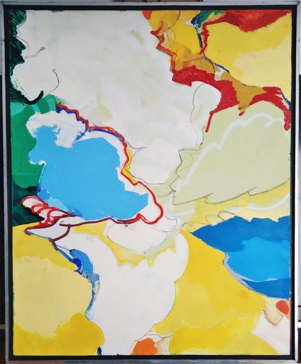Maurice WYCKAERT - 绘画 - Le point nevralgique
