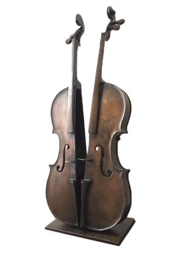 Fernandez ARMAN - Sculpture-Volume - Violon Découpé