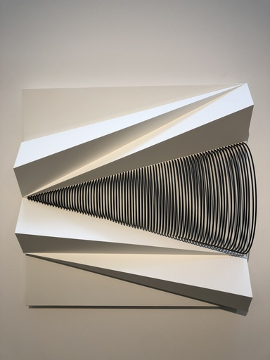 Fabrice AINAUT - Sculpture-Volume - Triangle mobile