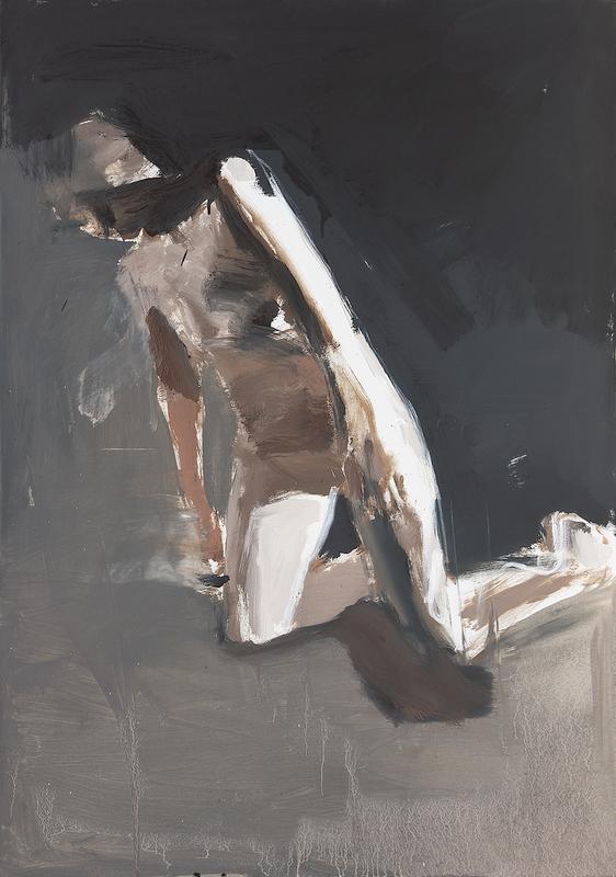 Vladimir SEMENSKIY - Painting - Appearing from the Dark III