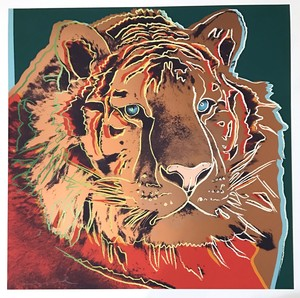 Andy WARHOL - Estampe-Multiple - Siberian Tiger
