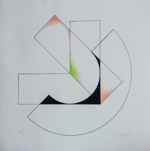 Gottfried HONEGGER - Print-Multiple - Superposition
