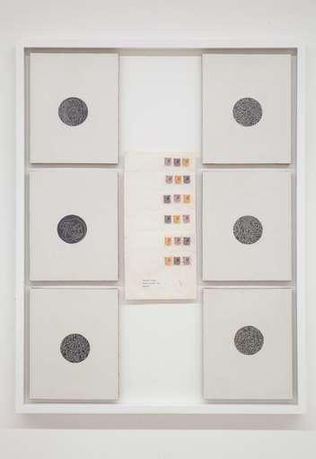 Alighiero BOETTI - Peinture - Lavoro postale (Percomunicazioni)