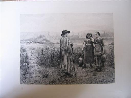 Daniel Ridgway KNIGHT - Print-Multiple - Les amies du berger