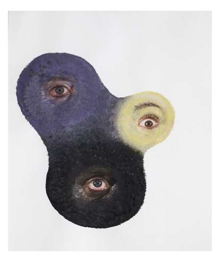 Tony OURSLER - Drawing-Watercolor - Groft