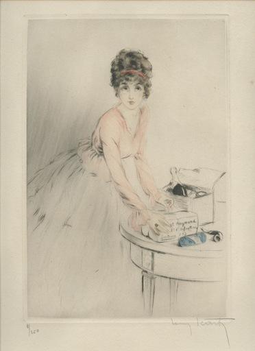 Louis ICART - Print-Multiple - GRAVURE 1917 SIGNÉ AU CRAYON NUM/250 HANDSIGNED ETCHING