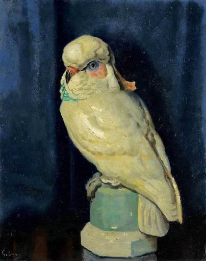 John Thomas Young GILROY - Pintura - Dresden Parrot