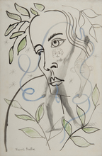 Francis PICABIA - Drawing-Watercolor - Transparence