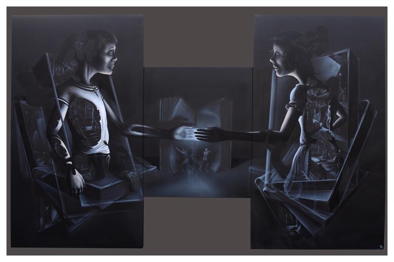 Steve BAUER - Painting - Vorbelastung