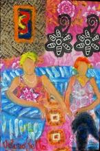 Valerio BETTA - Painting - Amiche in attesa