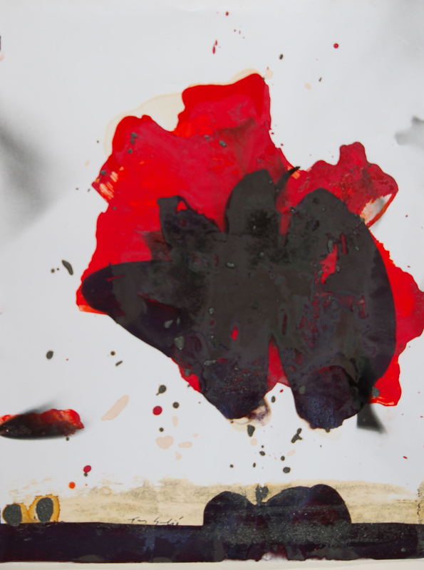 Tony SOULIÉ - Painting - Flower Series 1