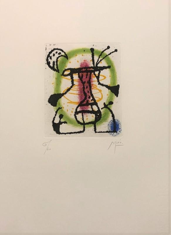 Joan MIRO - Print-Multiple - Suite la Bague d'Aurore