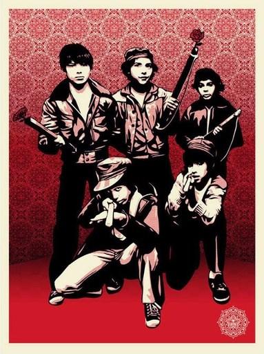 """谢帕德·费瑞 - 版画 - """"Defiant youth"""""""