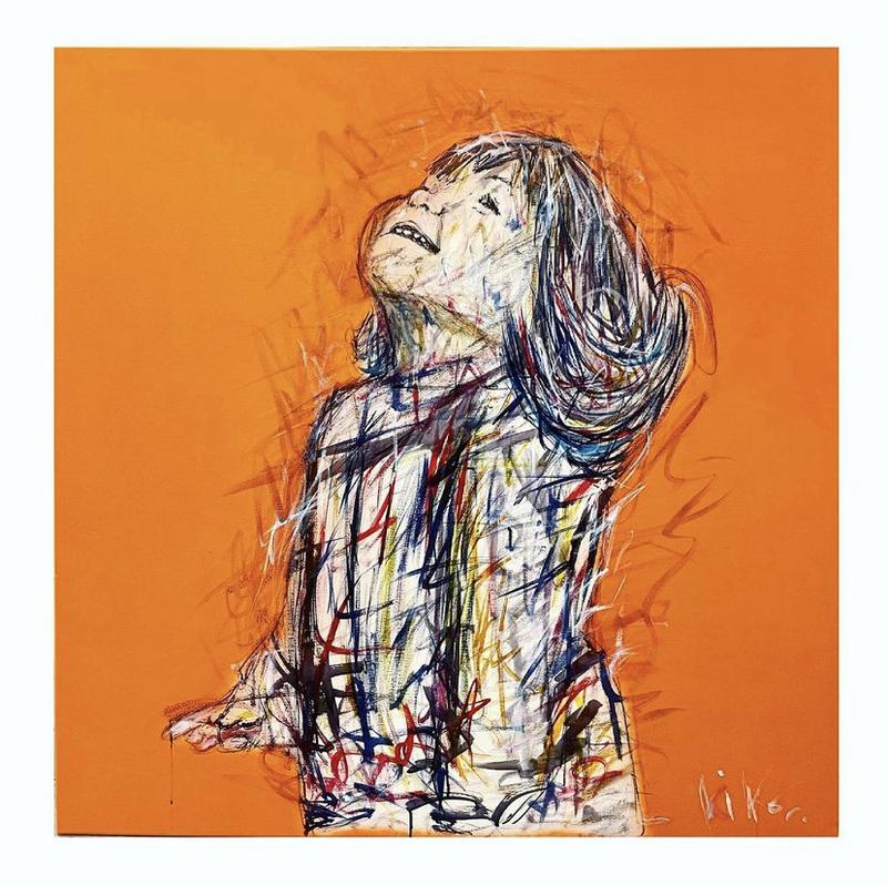 KIKO - Gemälde - Eclat de rire