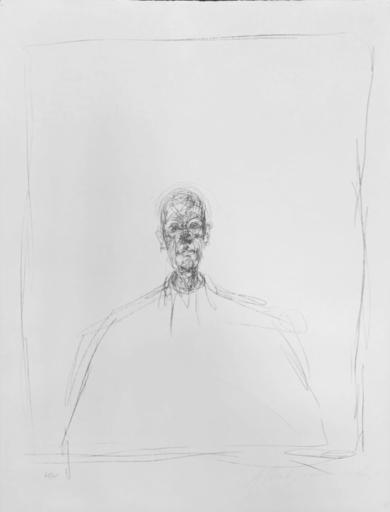 Alberto GIACOMETTI - Grabado - Buste d' homme