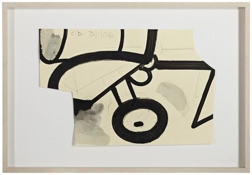 Carroll DUNHAM - Disegno Acquarello - Untitled