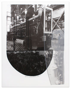 Robert RAUSCHENBERG, Tracks from Stoned Moon Series