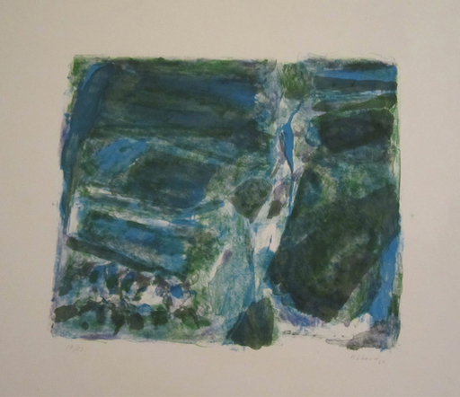 Chafik ABBOUD - Grabado - Untitled (Composition)