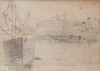 John Singer SARGENT - Dibujo Acuarela - Untitled (Seascape)