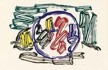 Roy LICHTENSTEIN - Print-Multiple - Apple and Lemon