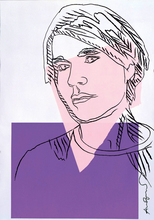 Andy WARHOL - Grabado - Self Portrait