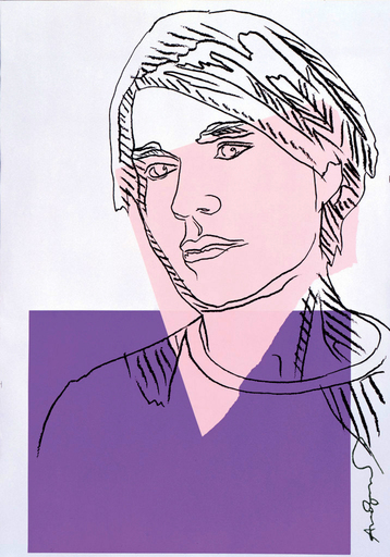Andy WARHOL - Stampa-Multiplo - Self Portrait