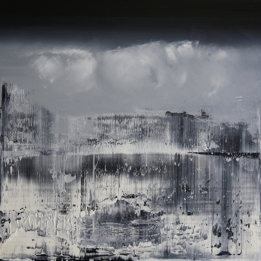 Harry James MOODY - Painting - Clouds No.305
